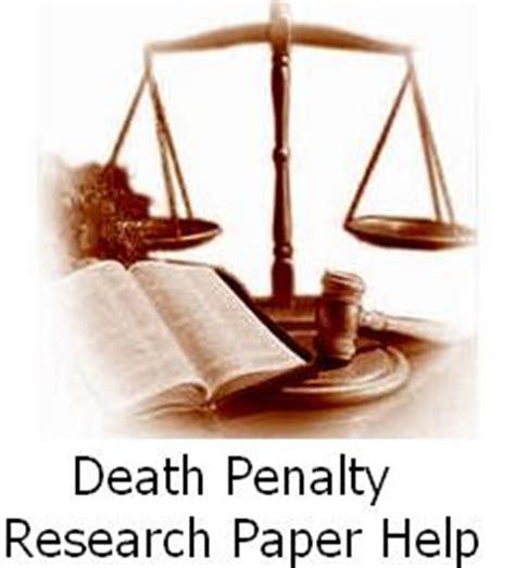 An argumentative essay on the death penalty